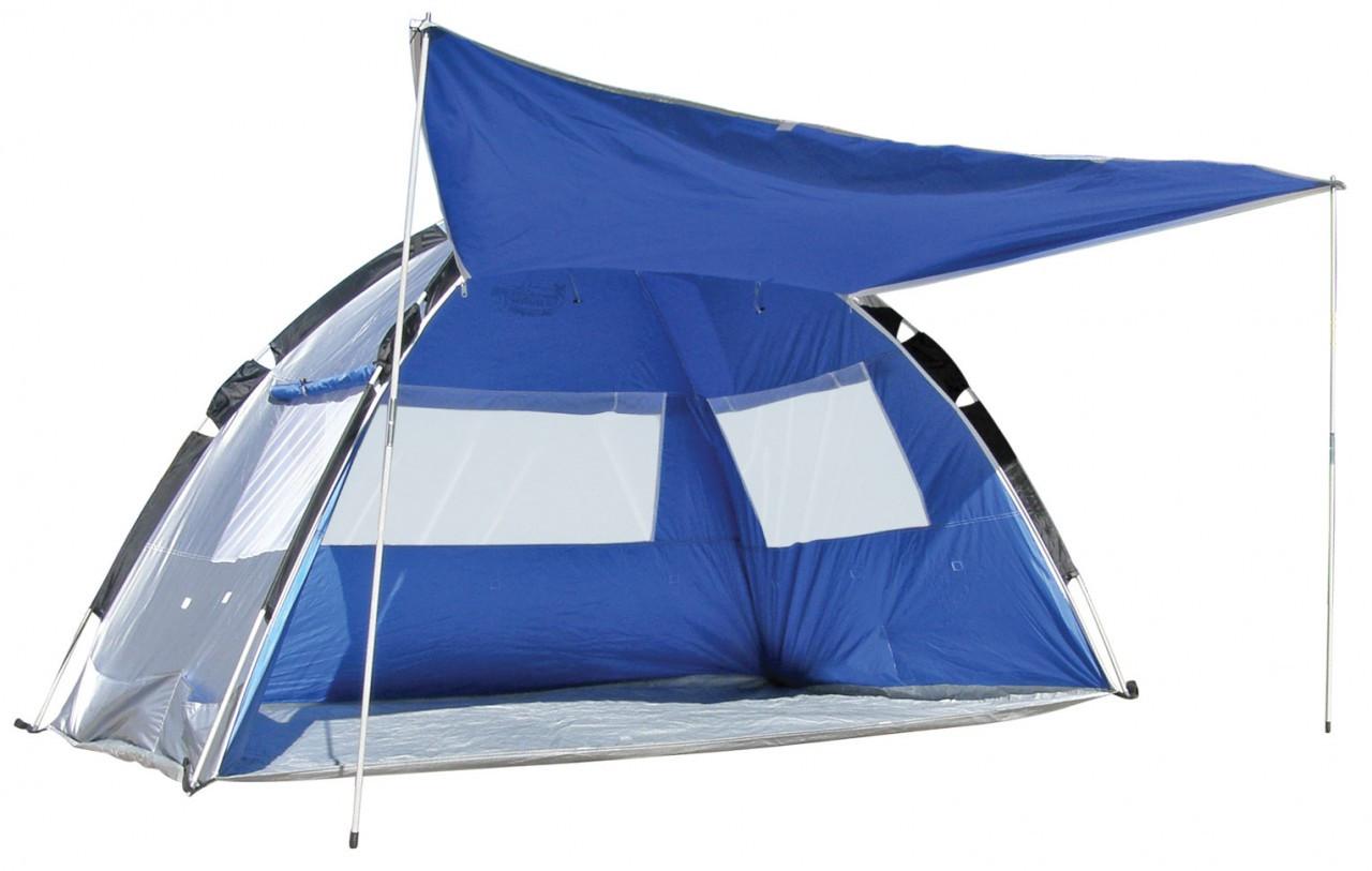 Pop Up Sun Shelter For Beach : Pop up beach tent sun shade shelter land and sea