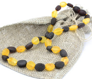 Teething amber necklace