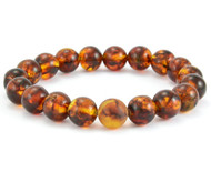 Men's Baltic amber bracelet