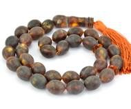 Islamic 33 Prayer Baltic Amber Beads Rosary