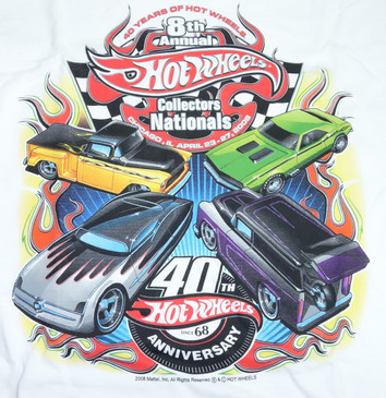 8th Nationals artwork on back of shirt