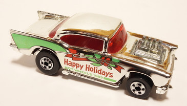 Rare '57 Chevy Mattel Employee Christmas car