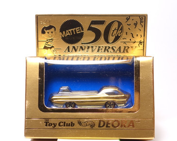 Mattel Toy Club Hot Wheels Gold Deora