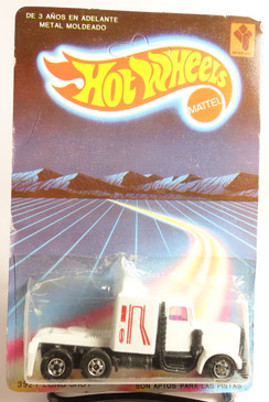 Extremely Rare Venezuela Hot Wheels Long Shot in White