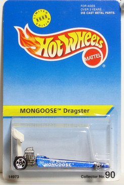 Hot Wheels Mongoose Dragster