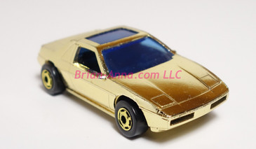 1985 Pontiac Fiero 2M4 Hot Wheels Prototype in never released Gold Chrome