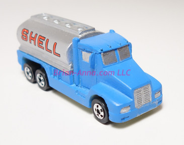 Hot Wheels Prototype Tank Truck with Shell name painted on by hand