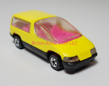 Hot Wheels Prototype Chevy Lumina Mini Van with bright pink plastic interior