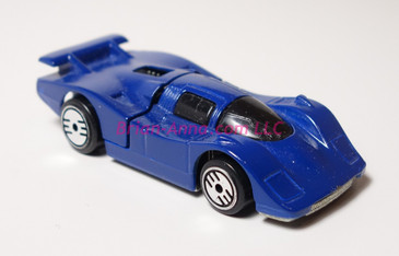 Hot Wheels Prototype paint sample of Sol-Aire CX4 in dark blue paint color.