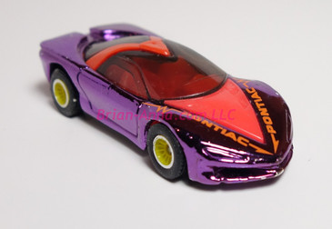 Hot Wheels Prototype of Pontiac Banshee in Purple Chrome