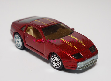 Hot Wheels Prototype of the Nissan 300ZX featuring tinted windows