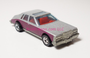 Hot Wheels Prototype of Cadillac Seville in metalflake silver paint sample