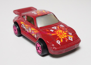 Hot Wheels Prototype of Revealers Red Porsche 930