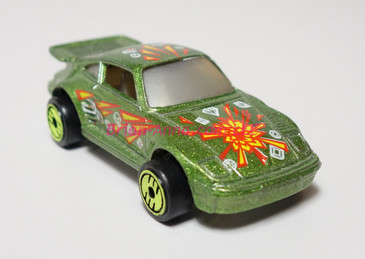 Hot Wheels Prototype of Revealers Green Porsche 930