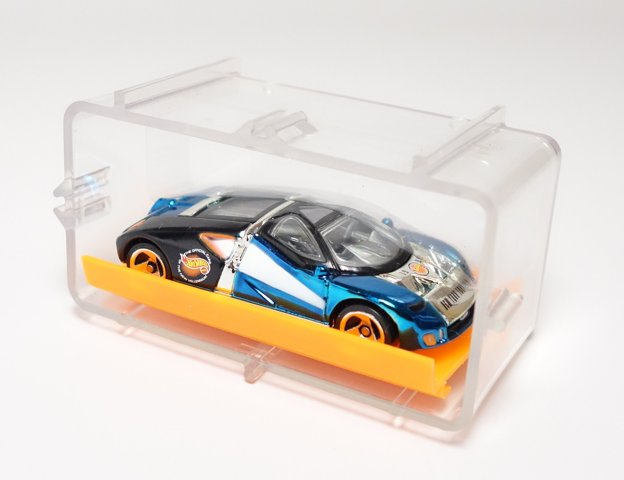 Hot Wheels  New York Toy Fair Ford Gt  New In The Case And