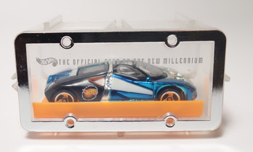 Hot Wheels 1999 New York Toy Fair Ford GT-90 new in the case and from the collection of Mike Strauss the author of the original price guide