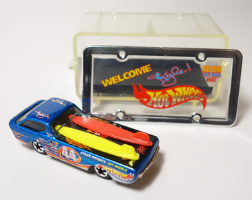 Hot Wheels 1997 New York Toy Fair Kyle Petty Deora, promoted Hot Wheels & Kyle Petty Nascar venture.