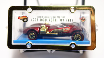 1998 Hot Wheels New York Toy Fair premium featuring the Hot Wheels Twin Mill