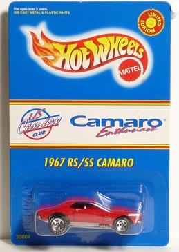 Hot Wheels 1967 RS/SS Camaro