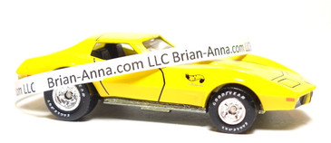 Hot Wheels Limited Edition 1975 Corvette in Bright Yellow