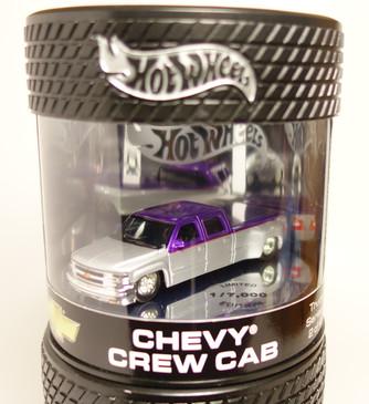 Custom Chevy Crew Cab, slammed