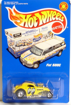 Hot Wheels Fiat 500C Mooneyes