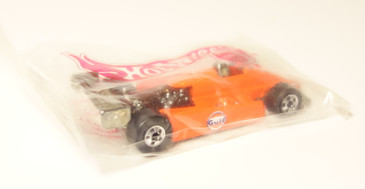 Hot Wheels Gulf Oil Gas Station Promotional Give-a-Way Turbo Streak brand new in the baggie