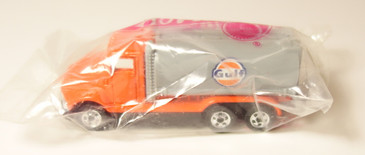 Hot Wheels Gulf Oil Gas Station give-a-way Tank Truck