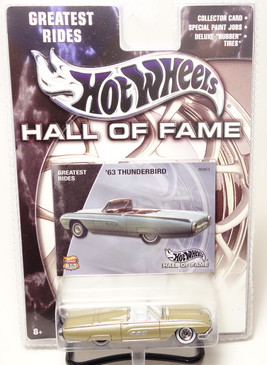 2003 Hot Wheels Hall of Fame 1963 Ford Thunderbird Convertible