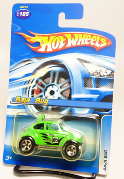 Hot Wheels 2005 collector number 185 Baja Bug in Green
