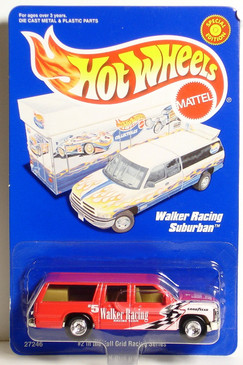 Hot Wheels Suburban Walker Racing Team Trailer Edition LE