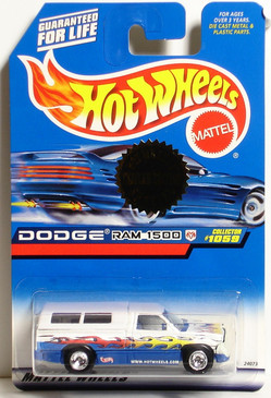 Dodge Ram 1500 Exclusive Special Trailer Edition Hot Wheels Collector #1059