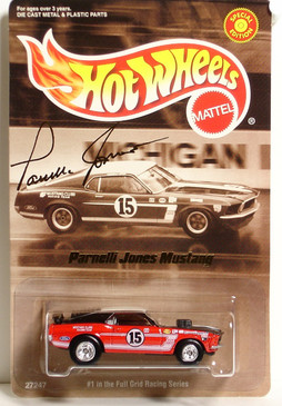 Parnelli Jones Mustang Mach 1 Limited Edition Hot Wheels