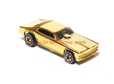 "Hot Wheels Prototype Gold Chrome '70 Plymouth ""Mongoose"" Duster"