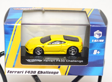 Hot Wheels 1:87 HO Scale Ferrari F430 Challenge