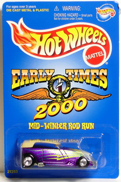 Early Times Car Club Mid-Winter Rod Run Phaeton Hot Wheels Limited Edition
