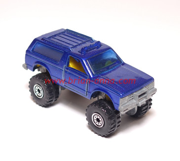 Hot Wheels Blazer 4x4 Prototype - Paint, Interior & tampo sample