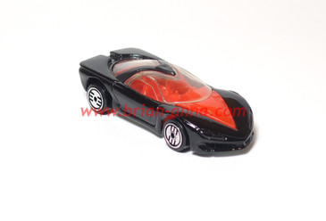 Hot Wheels Pontiac Banshee Prototype in Black with Ultrahot wheels
