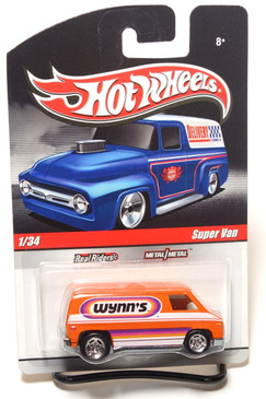 Hot Wheels Delivery Series, Wynn's Super Van in Orange