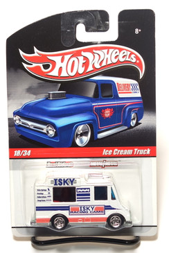 2010 Hot Wheels Delivery Series, ISKY Racing Cams Ice Cream Truck