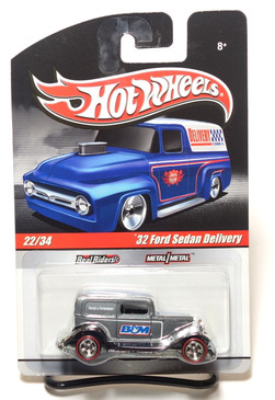 2010 Hot Wheels Delivery Series, B&M Shifters '32 Ford Sedan Delivery in Gray