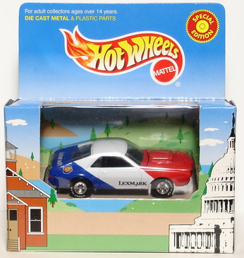 Hot Wheels AMX Special Lexmark Exclusive Promotional