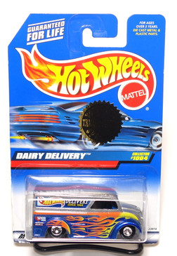 "Hot Wheels Dairy Delivery ""Fast Delivery"" Trailer Edition exclusive, Collector Number 1004"