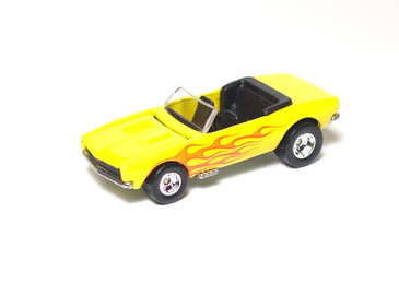 '67 Chevy Camaro Convertible in Yellow from Ultra Hots Series