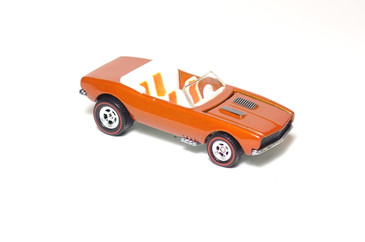 Hot Wheels Ultra Hot Series '67 Chevy Camaro Convertible in Orange, mint loose