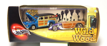 100% Hot Wheels Wild Wood 2-car set, issued in 2003