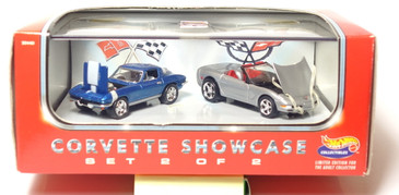 Hot Wheels 45th Corvette Showcase Anniversary Set