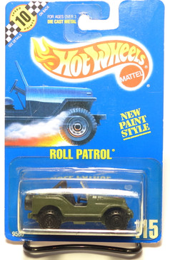 Hot Wheels Collector #115 Roll Patrol Jeep CJ-7, CTB wheels, BP