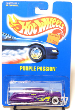 Hot Wheels Collector #87 Purple Passion with Flames, WW wheels, BP