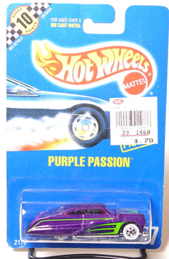 Hot Wheels Collector #87 Purple Passion with Scallops, WW wheels, BP